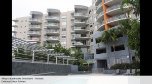 Allegro Apartments Southbank - poolside - existing