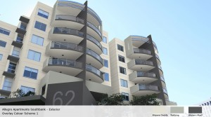 Allegro Apartments Southbank exterior - option 1