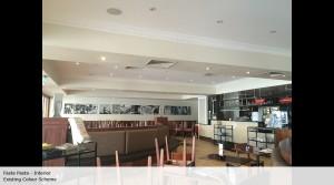 Fasta Pasta interior - existing
