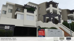 Toowong Apt - exterior - option 1