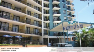 Neptune Resort Broadbeach existing